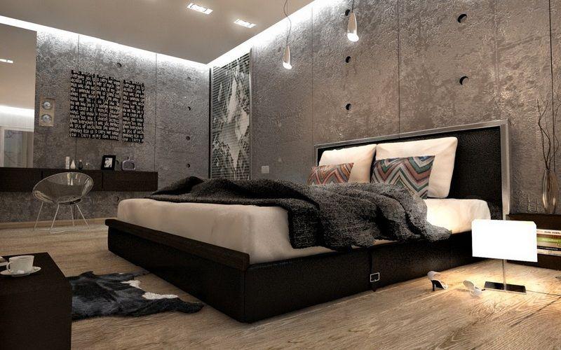 Спальня в стиле лофт - История стиля