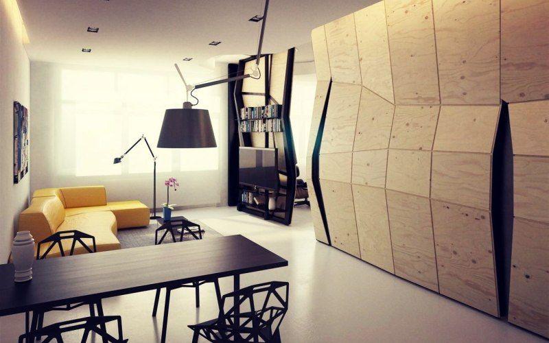 Стиль конструктивизм в интерьере квартиры