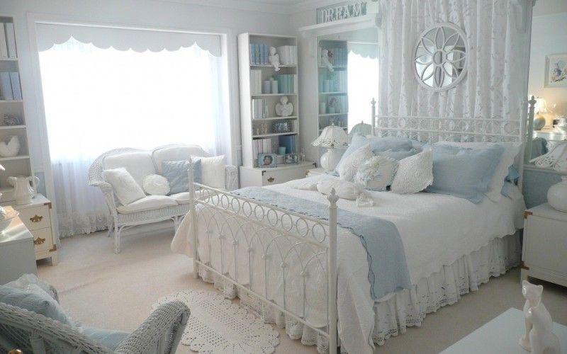 Спальня в стиле прованс: цвета, мебель, декор