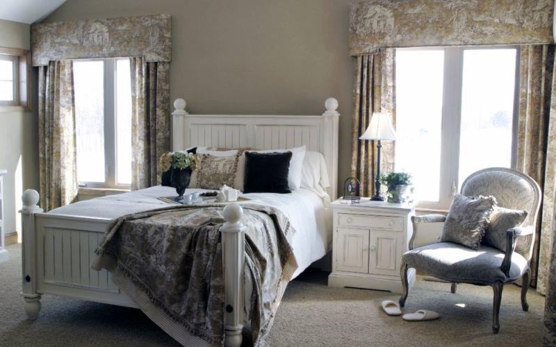Какие цвета использовать для спальни в стиле прованс