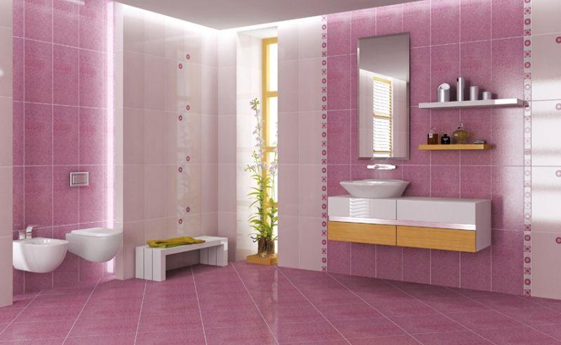 Многообразие керамический плитки в ванной
