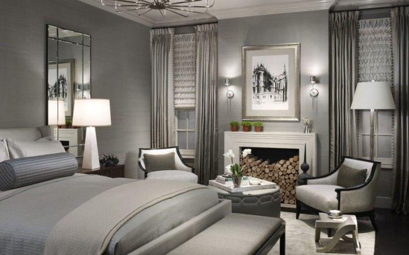 Спальня в серых тонах: какой оттенок выбрать и с чем сочетать