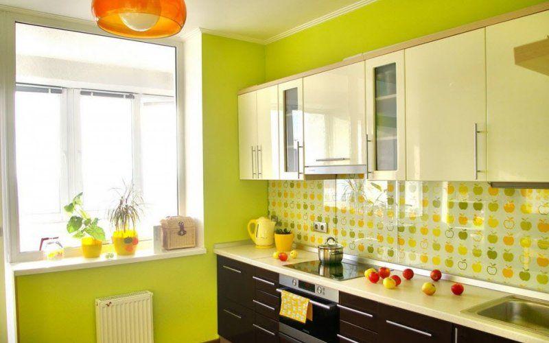 Кухня в зеленом цвете: оттенки, сочетания, фото интерьеров