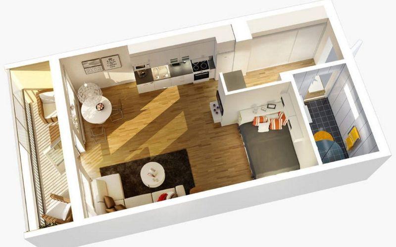Что такое квартира-студия?