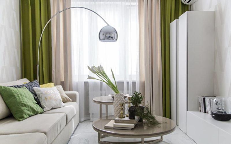 Стиль и цвет оформления гостиной