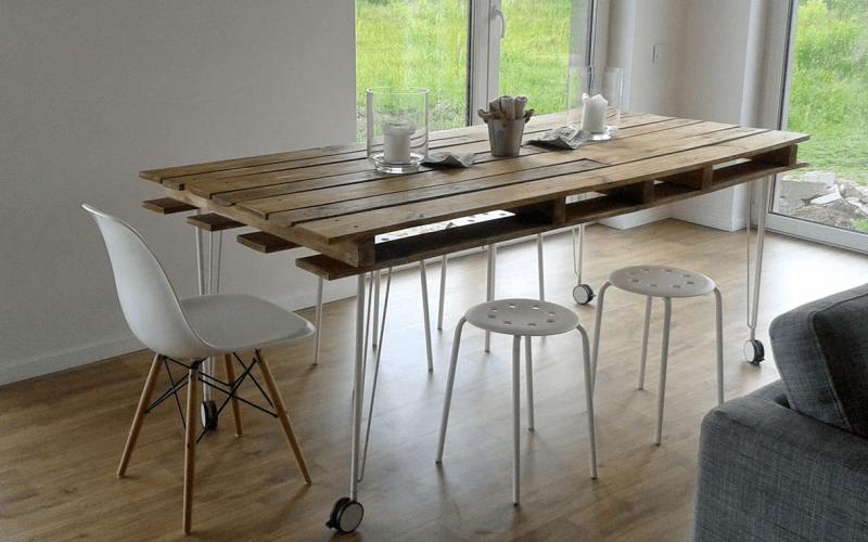 Кухонный стол своими руками для чайников