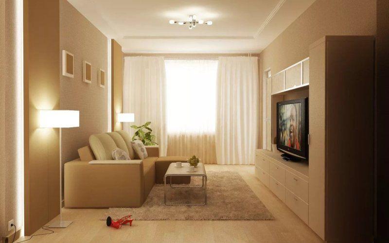 Маленькая гостиная в хрущевке: как спланировать пространство