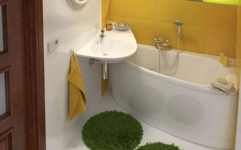 Дизайн ванной комнаты в хрущевке - Как спланировать маленькую ванную