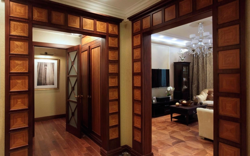 Лучшие идеи оформления дверного проема без двери
