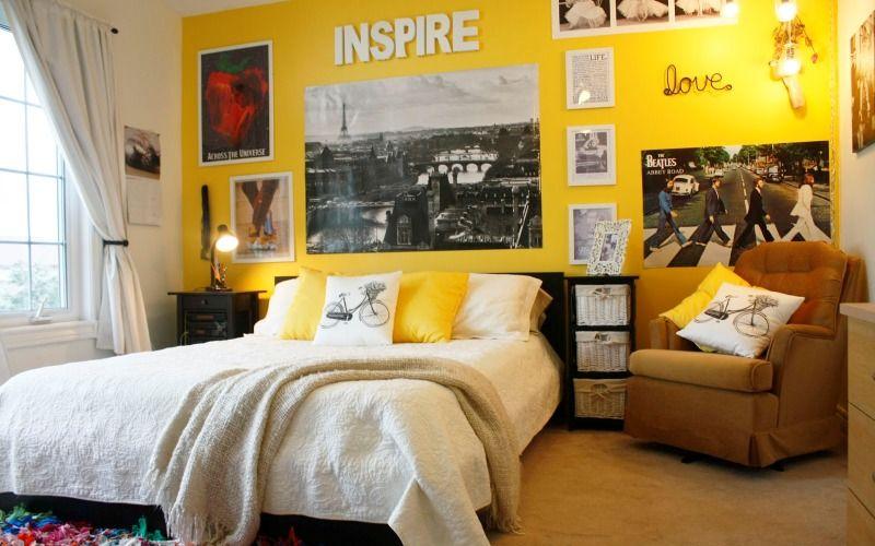 Выбираем цвет для спальни — Зеленый и желтый
