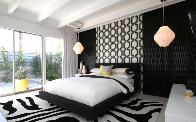 Выбираем цвет для спальни — Черная спальня, глубокий сон