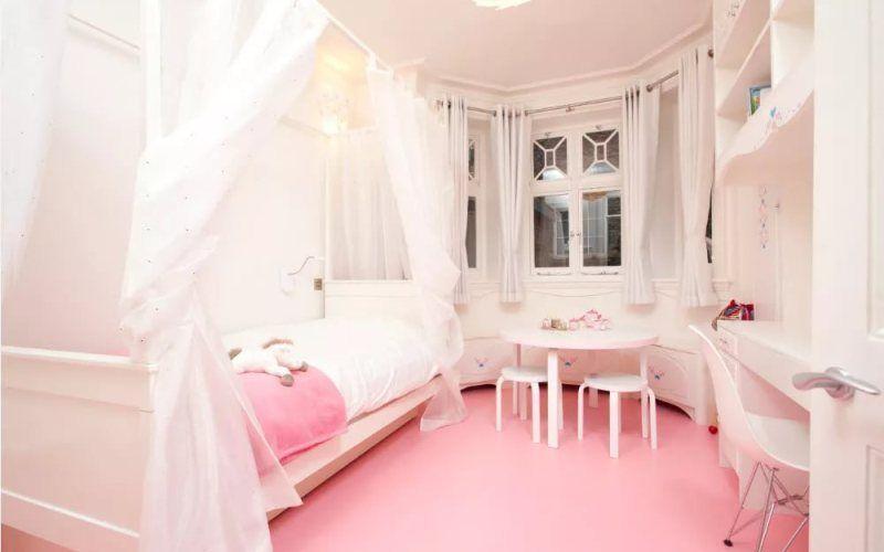 Белая детская комната - фото идеи