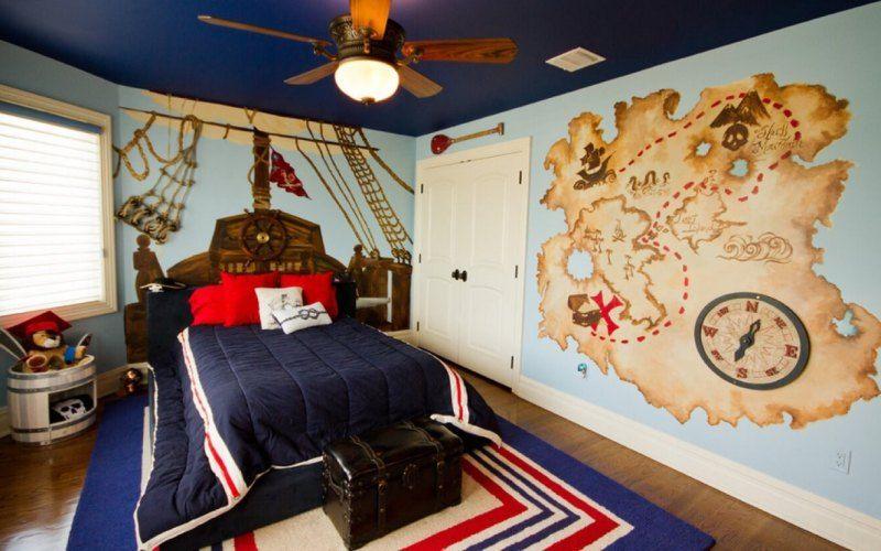 Какую тему для оформления детской комнаты выбрать - Морская тематика