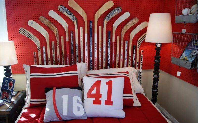 Какую тему для оформления детской комнаты выбрать - Спорт и спортивные кумиры