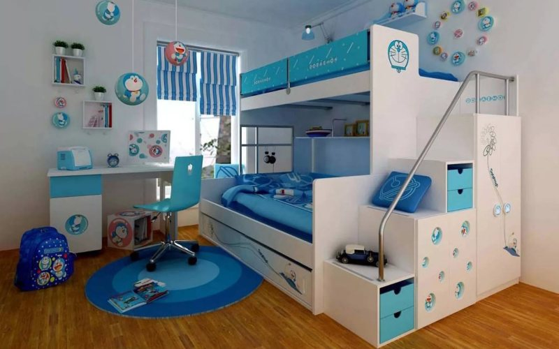 Планируем детскую комнату с умом - Необходимая мебель