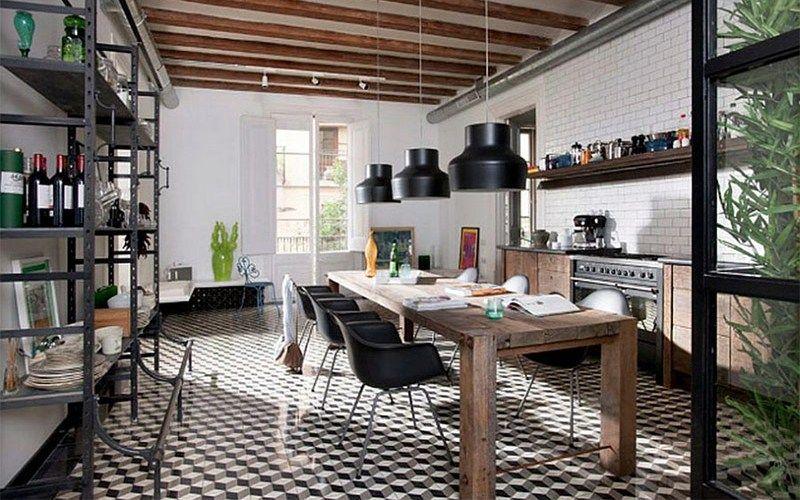 Кухня в стиле лофт - Особенности стиля лофт