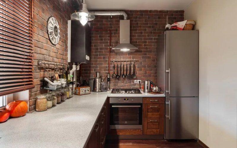 Кухня в стиле лофт - Мебель и аксессуары