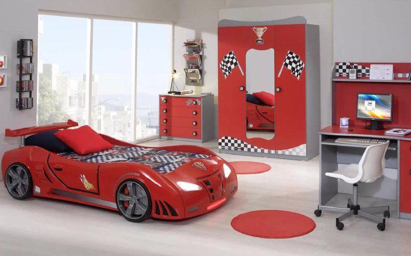 Какую тему для оформления детской комнаты выбрать - Автомобили или гонки