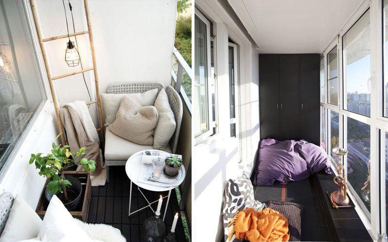 Как оформить зону отдыха на балконе