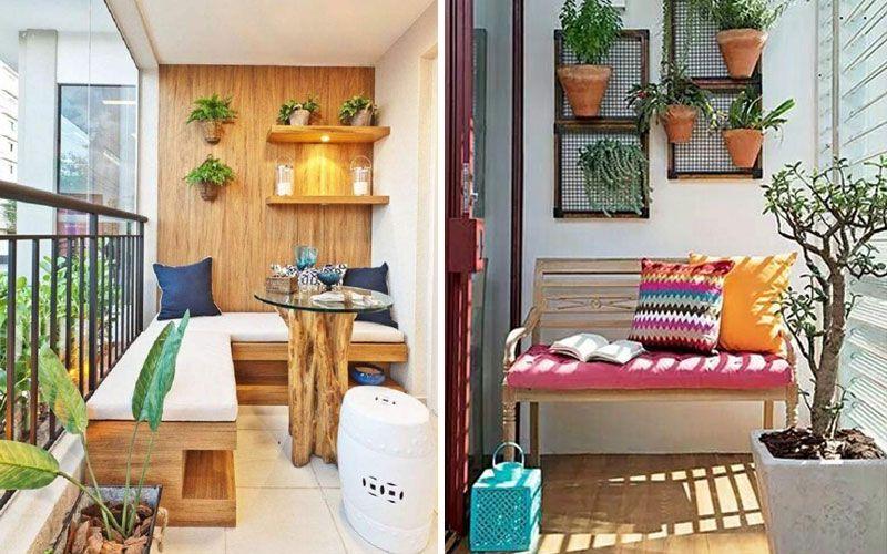 Закрытй балкон и зона отдыха