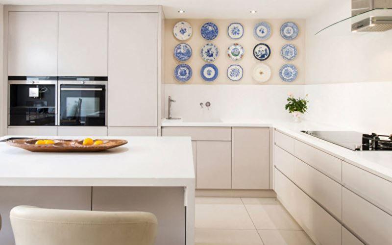 Конструктивные особенности угловой кухни