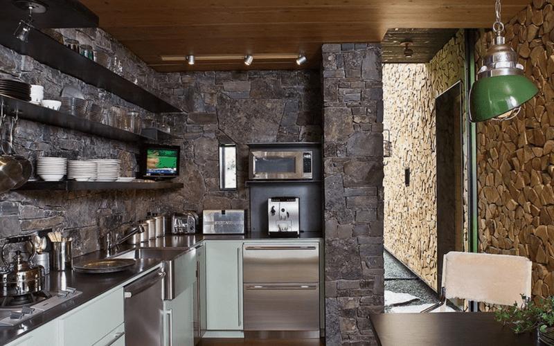 Планировка и дизайн угловой кухни