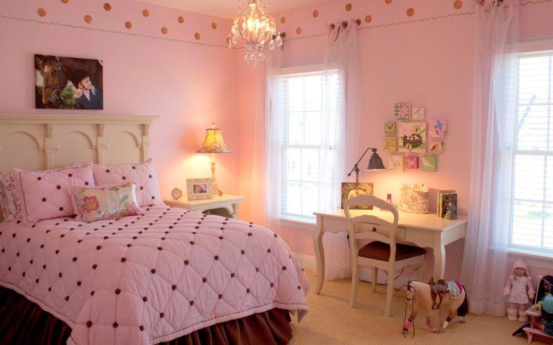 Цвет ballet slipper детской комнате