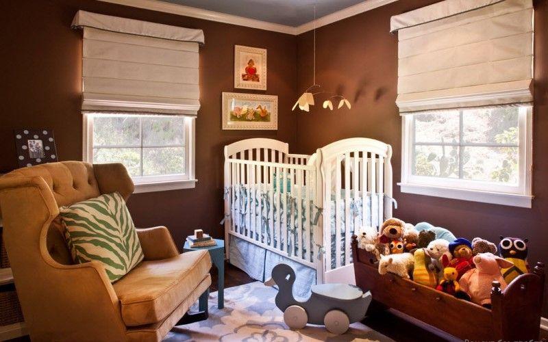 Как подобрать шторы к коричневому интерьеру