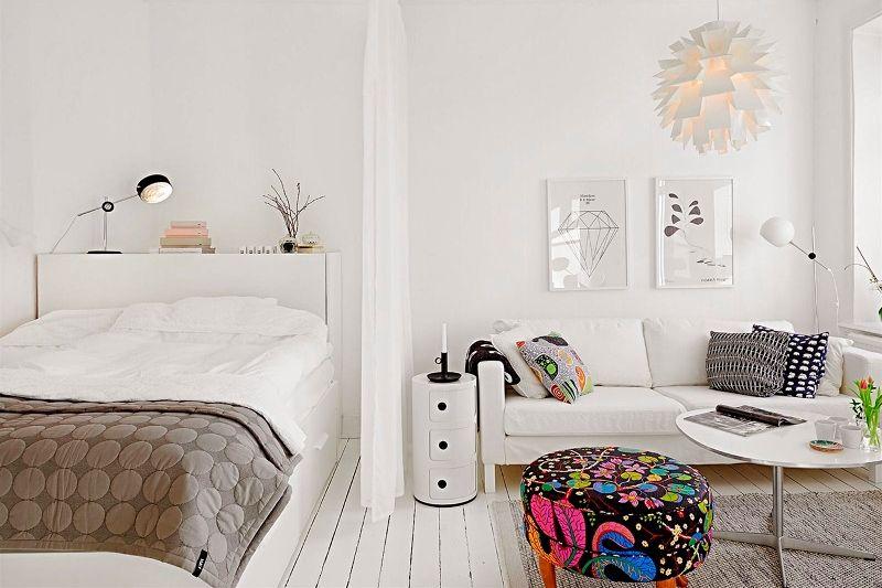 Квартира-студия: планировка, зонирование, дизайн (+55 фото интерьеров)