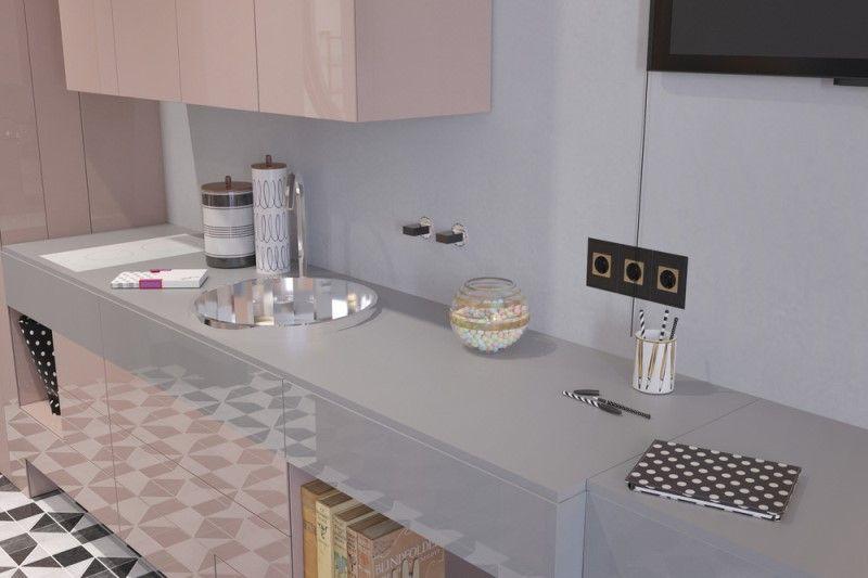 Квартира- студия площадью 29,9 м кв - планировка и дизайн