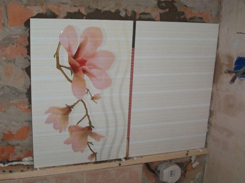 Ремонт кухни пошагово - Укладка плитки