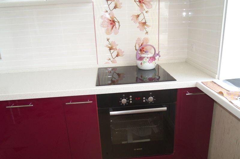 Ремонт кухни пошагово - Установка плиты и духовки