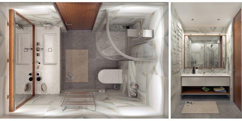 Светлая квартира студия на 29 квадратных метрах - дизайн интерьера