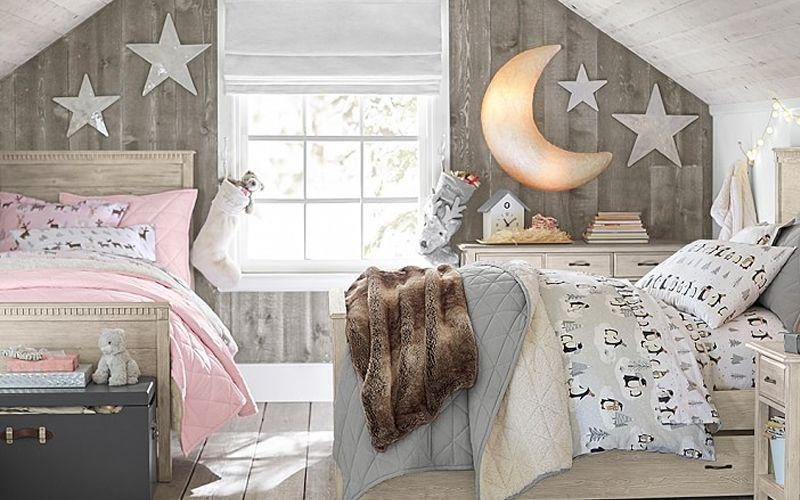 Комната для мальчика и девочки - дизайн интерьера