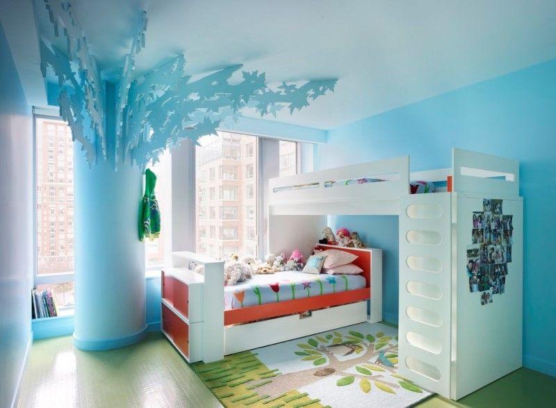 Комната для мальчика и девочки - интерьер