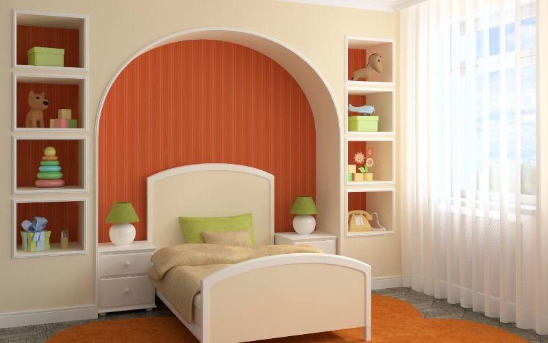 Ниша в стене из гипсокартона в интерьере - 100 фото идей для интерьера