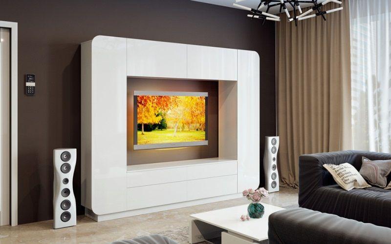 Стенка мебельная в современном стиле