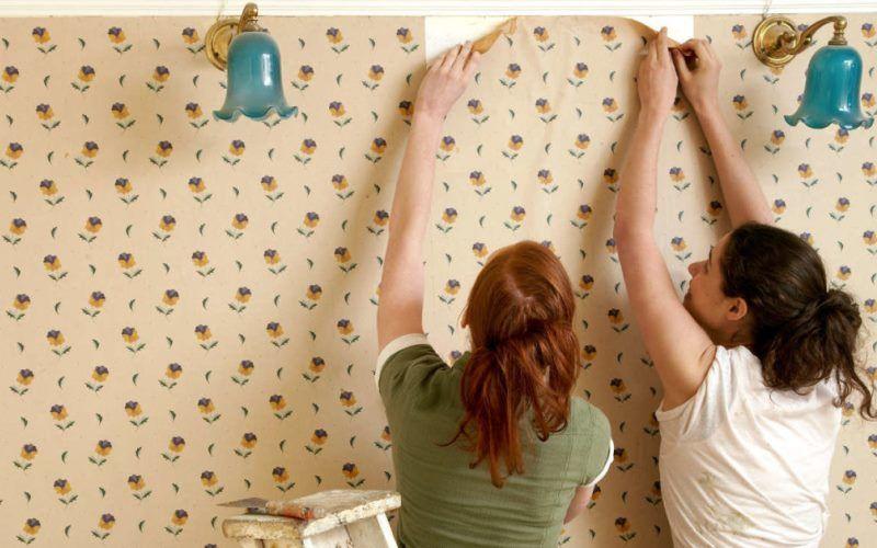 Как подготовить стены к поклейке обоев — очистка стен