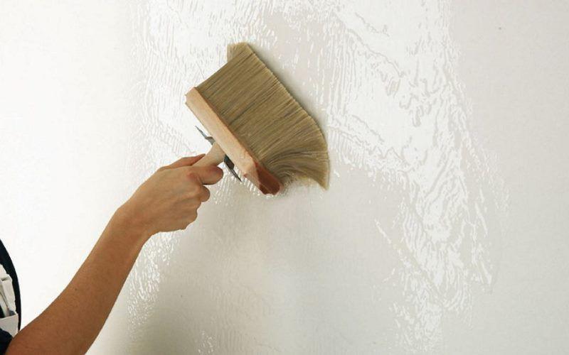Как подготовить стены к поклейке обоев — грунтовка