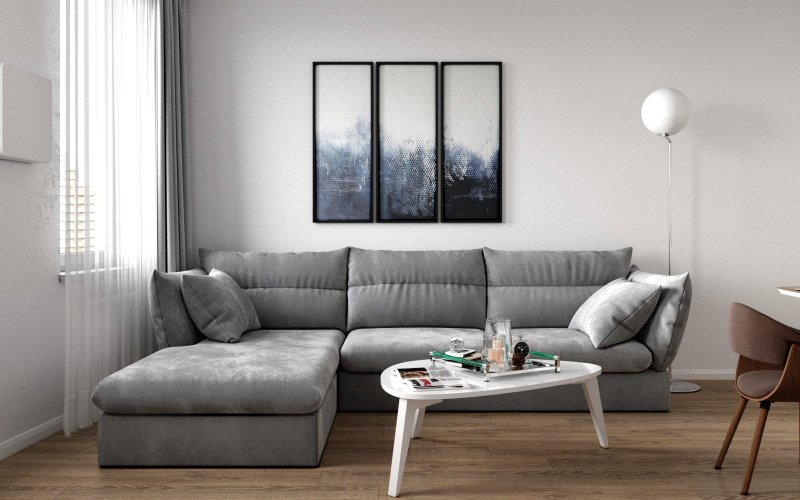 Дизайн квартиры 55 кв.метров в ЖК Самоцветы