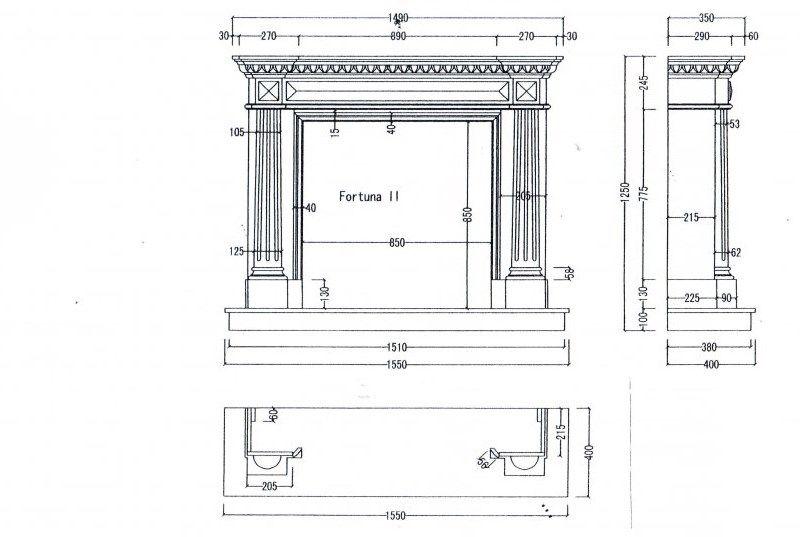 Как оформить каминный портал — стиль и материалы