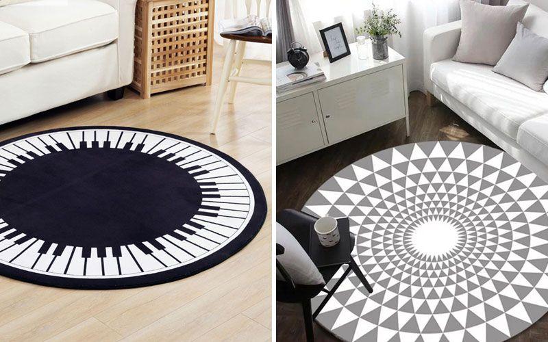 Круглые ковры на пол