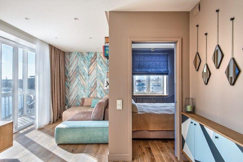 Интерьер квартиры 40 метров - дизайн