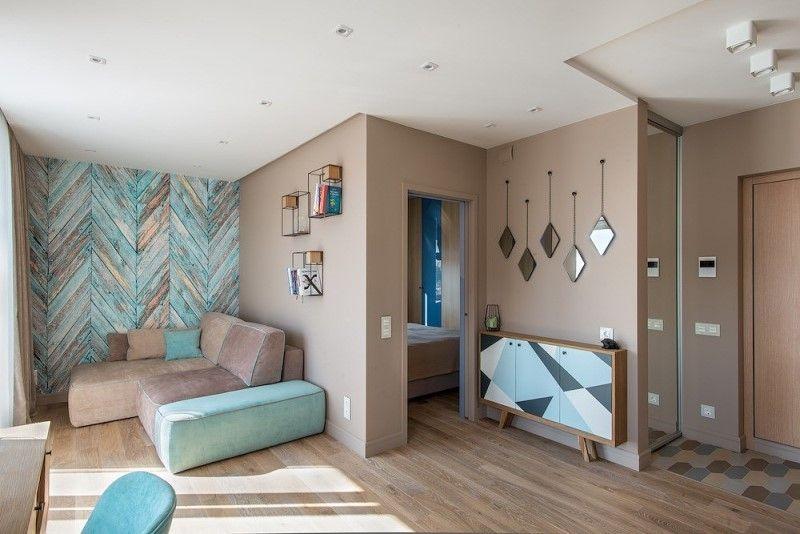 Квартира 40 метров в скандинавском стиле - интерьер и дизайн