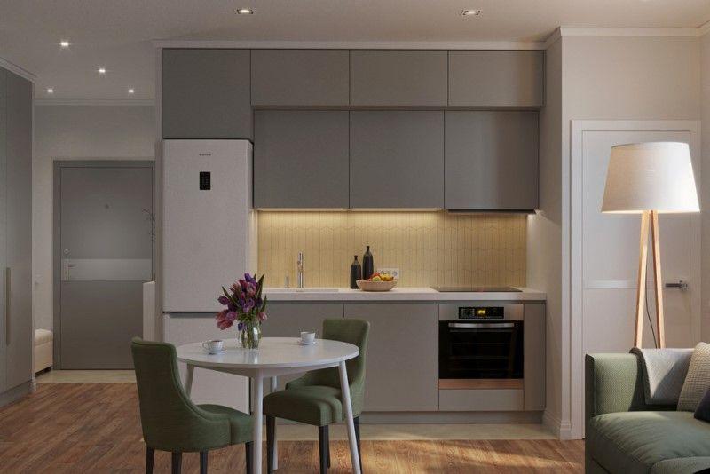 Квартира 40 метров - дизайн проект