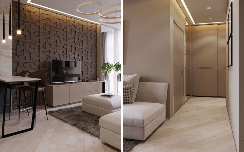 Дизайн квартиры 42 метра