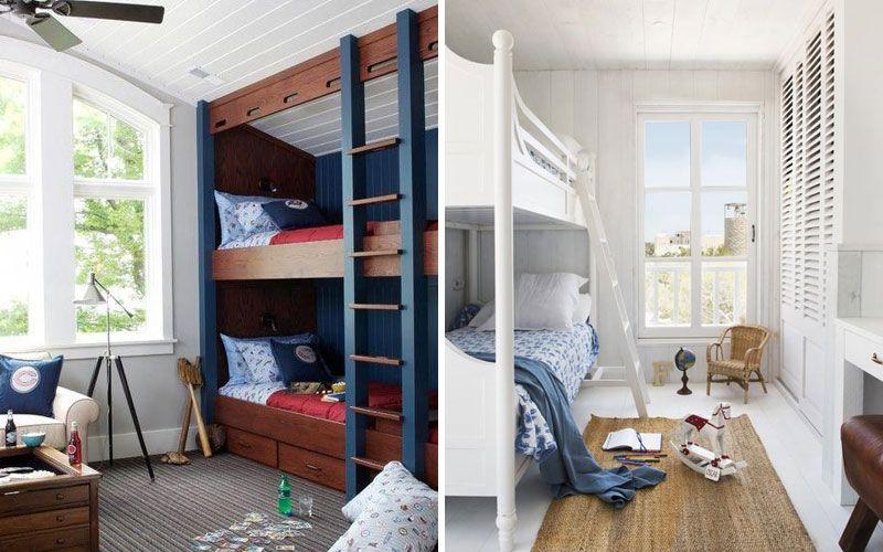 Двухъярусная кровать в интерьере детской: идеи + 80 фото