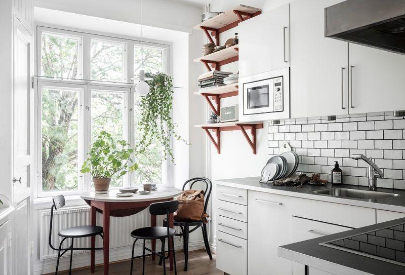 Двухкомнатная квартира 46 квадратных метров в Швеции
