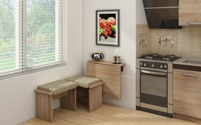 Пустой угол на кухне - чем украсить