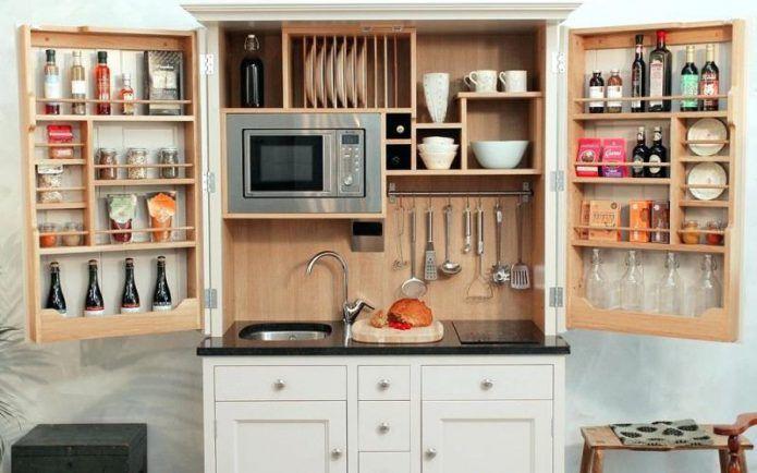 Дизайн мини-кухни: как оформить и разместить все необходимое